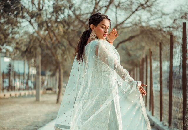 Best Gift for Girlfriend in India - Salwar Suit